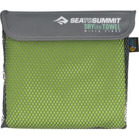Sea to Summit Drylite Handdoek Antibacterieel L, lime